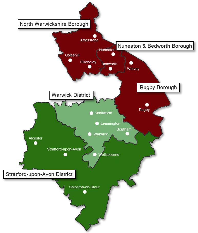 warwickshire-map